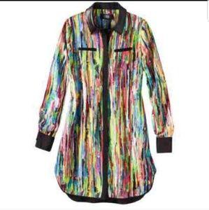 Multicolored Prabal Gurung for Target shirt dress